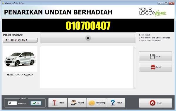 software undian versi 3